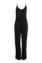 Jersey jumpsuit - Black - Ladies | H&M 2
