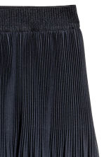 Pleated skirt - Dark blue -  | H&M 2