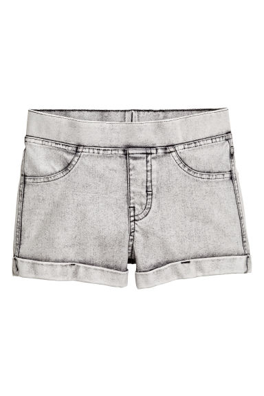 Short en jean - Gris washed out - ENFANT | H&M FR 1