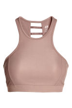 Sports bra Low support - Mole - Ladies | H&M 2