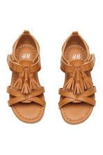 Tasselled sandals - Camel - Kids | H&M 2