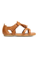 Tasselled sandals - Camel - Kids | H&M 3