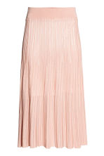 Calf-length skirt - Powder pink - Ladies | H&M CN 2