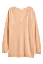 Lyocell blend jumper - Powder beige - Ladies | H&M CA 2