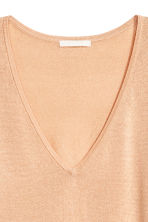 Lyocell blend jumper - Powder beige - Ladies | H&M CA 3