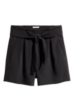 Shorts eleganti - Nero -  | H&M IT 2