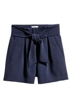 Smart shorts - Dark blue -  | H&M CN 2
