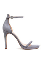Suede sandals - Dusky purple - Ladies | H&M 1
