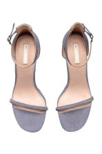 Suede sandals - Dusky purple - Ladies | H&M 2