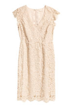 H&M+ Lace dress - Light beige - Ladies | H&M 2