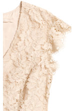 H&M+ Lace dress - Light beige - Ladies | H&M 3