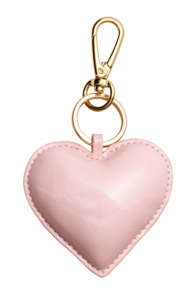 Keyring - Light pink/Heart - Ladies | H&M 1