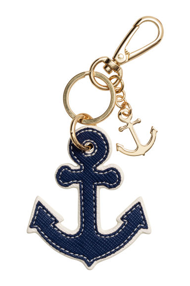 鑰匙圈 - Dark blue/Anchor - Ladies | H&M