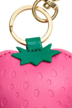 Keyring - Pink/Strawberries - Ladies | H&M 2