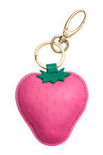 Keyring - Pink/Strawberries - Ladies | H&M 1