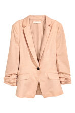 Blazer in jersey - Cipria mélange - DONNA | H&M IT 2