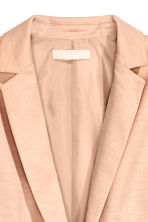 Blazer in jersey - Cipria mélange - DONNA | H&M IT 3