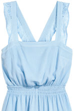 Crinkled playsuit - Light blue - Ladies | H&M 3