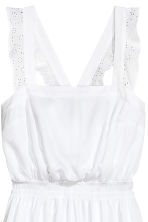 Crinkled playsuit - White - Ladies | H&M 3