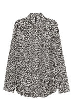 縐紗襯衫 - Leopard print - Ladies | H&M 2