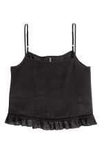 Wide strappy top - Black - Ladies | H&M 2