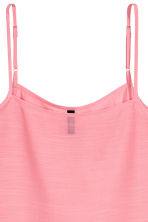 Wide strappy top - Coral pink - Ladies | H&M 3