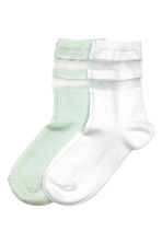 2-pack socks - White - Kids | H&M 1