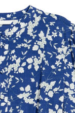 Printed dress - Dark blue/Floral - Ladies | H&M CN 3