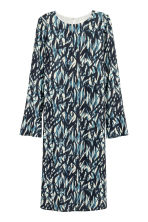 Patterned dress - Natural white/Blue - Ladies | H&M 2
