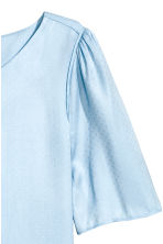 Woven top - Light blue - Ladies | H&M CN 3