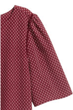 Woven top - Burgundy/Patterned - Ladies | H&M 3