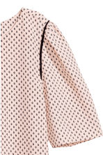 Woven top - Powder pink/Pattern - Ladies | H&M 3