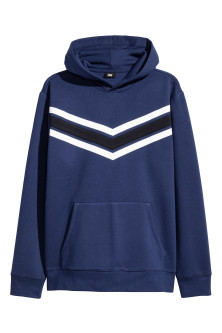 Hooded top in scuba fabric
