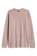 Waffled top - Light heather - Men | H&M CN 2