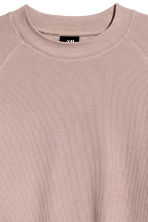 Waffled top - Light heather - Men | H&M CN 3