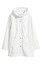 Rain jacket - White - Ladies | H&M 2