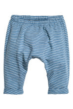 Jersey jacket and trousers - Blue/Striped - Kids | H&M 2