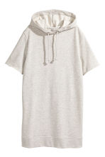 Hooded dress - Grey - Ladies | H&M 2
