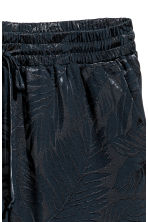 Pull-on trousers - Dark blue/Patterned - Ladies | H&M 3