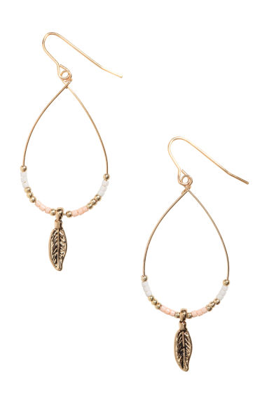 Teardrop-shaped earrings - Gold - Ladies | H&M CA
