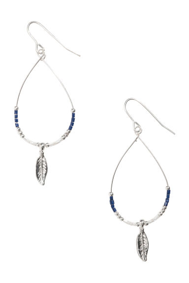 Teardrop-shaped earrings - Silver - Ladies | H&M CN 1
