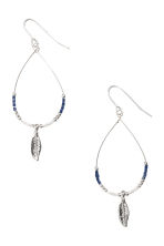 Teardrop-shaped earrings - Silver - Ladies | H&M 1