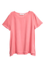 Short-sleeved blouse - Pink - Ladies | H&M CN 2