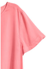 Short-sleeved blouse - Pink - Ladies | H&M CN 3