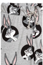 Patterned jersey joggers - Grey/Looney Tunes - Ladies | H&M 2