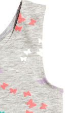 Jersey dress - Grey/Butterflies -  | H&M CN 3
