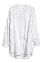Drawstring blouse - White/Striped - Ladies | H&M 2