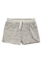 Marled shorts - Grey marl - Kids | H&M CN 2