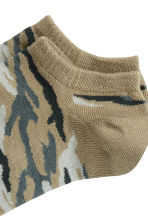 Trainer socks - Green/Patterned - Men | H&M 2