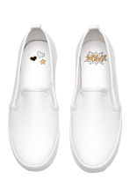 Slip-on trainers - White - Kids | H&M 3
